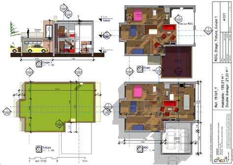 maison 6 chambres maison toit plat kel projet