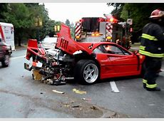 Ferrari F40 crash in Vancouver is sad to see