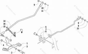 Arctic Cat Atv 2004 Oem Parts Diagram For Shifter Assembly