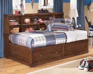 Delburne, Full, Bookcase, Storage, Bed, From, Ashley, B362