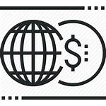Icon Economics Global Market Economy Financial Finance