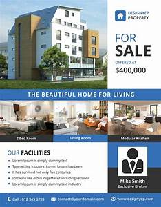 real estate free psd flyer template ff pinterest With property flyer template free