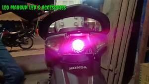 Honda Beat Injeksi Pakai Lampu Rem Projie Led Mini