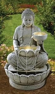 Fontaine Exterieur Zen : fontaine zen bouddha 1 cool plants fontaine zen ~ Nature-et-papiers.com Idées de Décoration