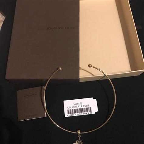 Louis Vuitton Gold Lv La Folie Necklace - Tradesy