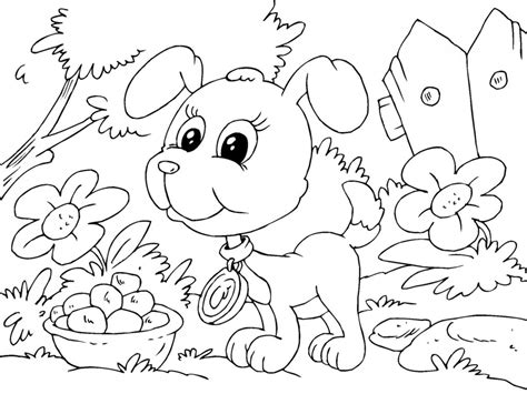 Puppy Coloring Pages Pdf Coloring Pages