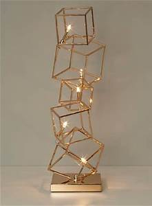 copper table dexter and table lamps on pinterest With copper cube floor lamp