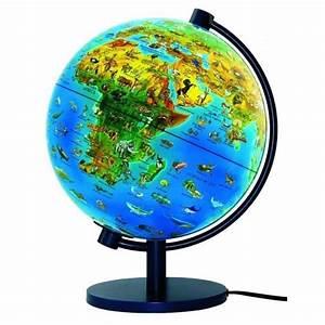 Globe Terrestre Enfant : globe terrestre lumineux monde animal livret achat vente carte planisph re cdiscount ~ Teatrodelosmanantiales.com Idées de Décoration