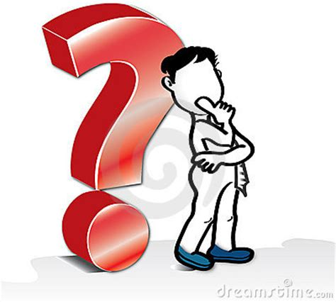 big red question mark royalty  stock photo image