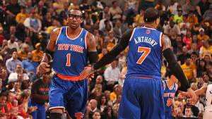Melo: Happy with STAT's offseason workouts - Amar'e Stoudemire