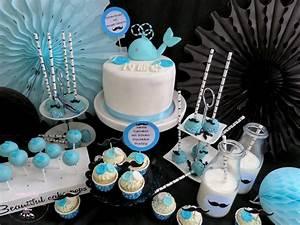 Baby 1 Geburtstag Deko : blaue wal baby shower f r little gentlemen inkl rezept baby belly party blog ~ Frokenaadalensverden.com Haus und Dekorationen