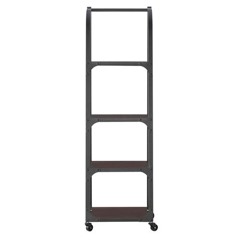 Industrial Bookcase With Ladder by Home Decorators Collection Industrial Empire Black Ladder