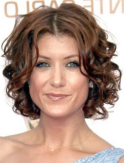 Curly Short Hairstyles for Older Women Over 50 Best