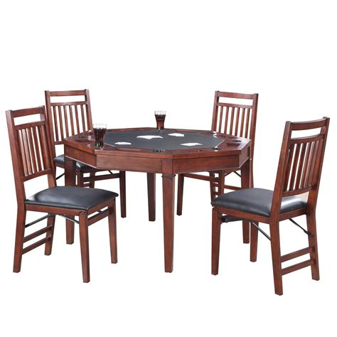 poker table and chips set hathaway broadway 48 in folding poker table and chairs
