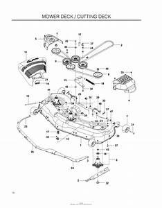 35 Husqvarna Rz5424 Drive Belt Diagram