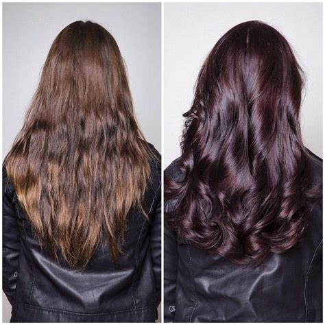 4n hair color makeover monday chromasilk 4n 4 20 with 10 volume creme