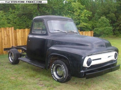 1953 ford f100 4x4 53 ford grill