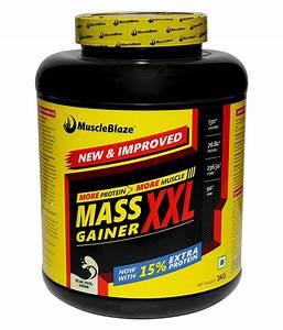 Muscleblaze Mass Gainer Xxl 3 Kg    6 6 Lbs Kesar Pista Badam  Buy Muscleblaze Mass Gainer Xxl 3