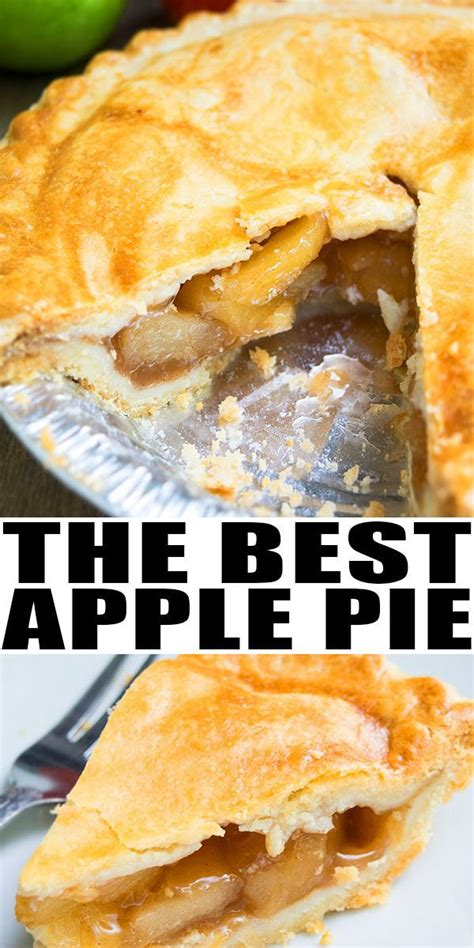 It's pie season which means you need a really good homemade apple pie recipe! EASY APPLE PIE RECIPE from scratch- Classic, old fashioned, homemade with simple ingredients ...