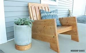 Diy, Modern, Outdoor, Chair