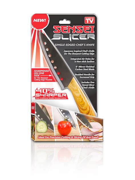 tv seen knife slicer sensei chef chefs shopping kmart tools way single