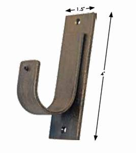 galvanised tv aerial wall mounting kit cranked offset With outdoor wall light mounting hardware