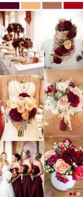 wedding ideas for fall 35 inspiring burgundy and wedding ideas for 2017