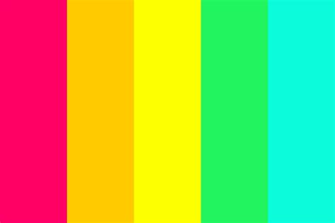 bright color palette bright candies color palette