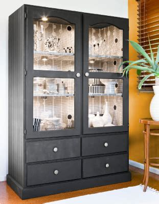 how to decorate a china cabinet decorate your old furniture