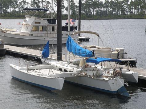 Sailing Catamaran Ebay by Sailboat 28 Brown Maples Trimaran Trimaran Design