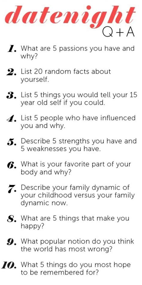 Here Are 10 Great Questions To Ask On Your First Or Second