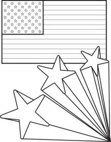 American Flag 4th of July Coloring Pages