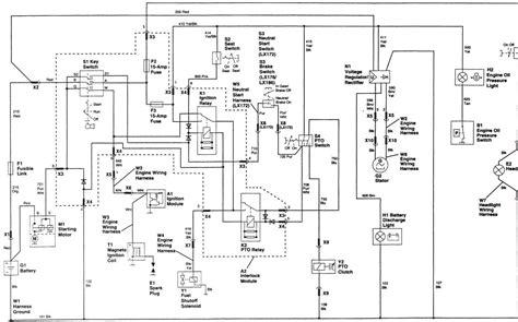 deere stx38 pto switch wiring diagram