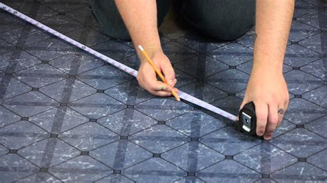 Installing Vinyl Tile Over Linoleum : Let's Talk Flooring