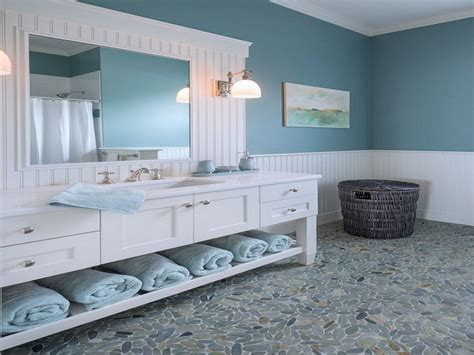 blue and white bathroom decorating ideas coastal living