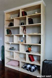 30 bookshelf ideas you can build by yourself