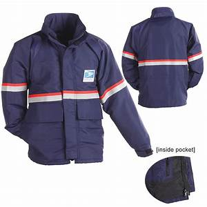 waterproof breathable parka shell With usps uniforms letter carrier