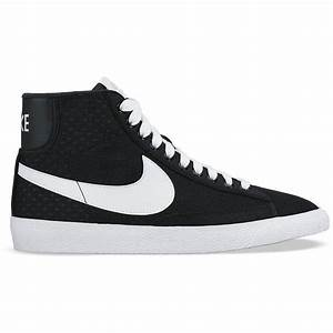 Nike Shoes For Girls High Tops Black And White | www ...