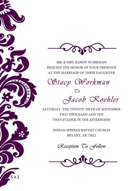 Best Invitation Cards : Unique Wedding Invitation Card