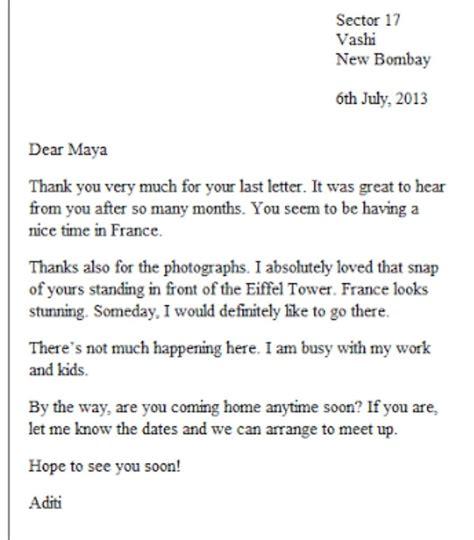 letter writing informal letter formal letter brainlyin