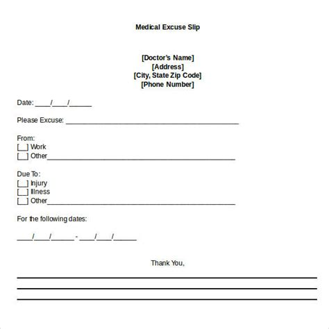 medical note 34 doctors note sles pdf word pages portable documents sle templates