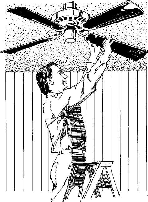 ceiling fan clipart  clipartioncom