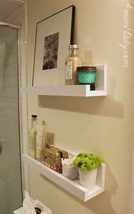 diy bathroom shelves to increase your storage space With pictures of bathroom shelves