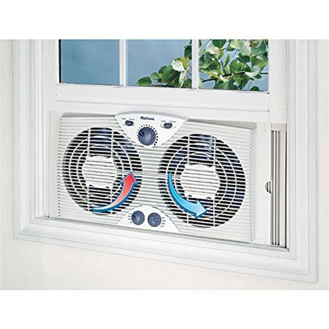 holmes twin window fan holmes twin window fan with comfort control thermostat new