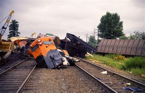 Great Northern Marysville Train Wreck, 1969