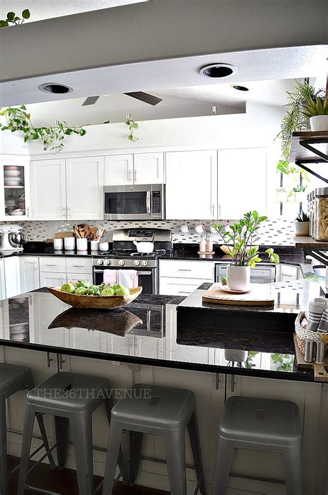 Decorating Ideas Kitchen by White Kitchen Pink Kitchen Decor The 36th Avenue