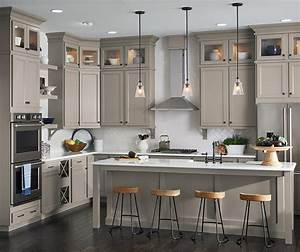 Gray Kitchen with Laminate Cabinets – Aristokraft