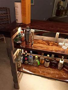 Build A Pallet Bar - Step By Step Instructions