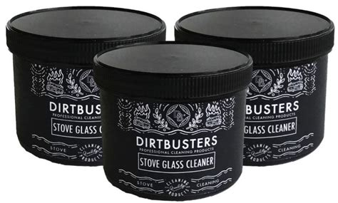 stove glass cleaning paste    pot wood burner dual
