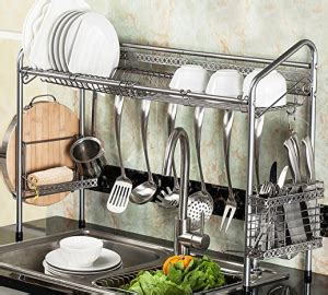 kitchen sink storage the sink shelf with paper towel holder 3 useful 6554